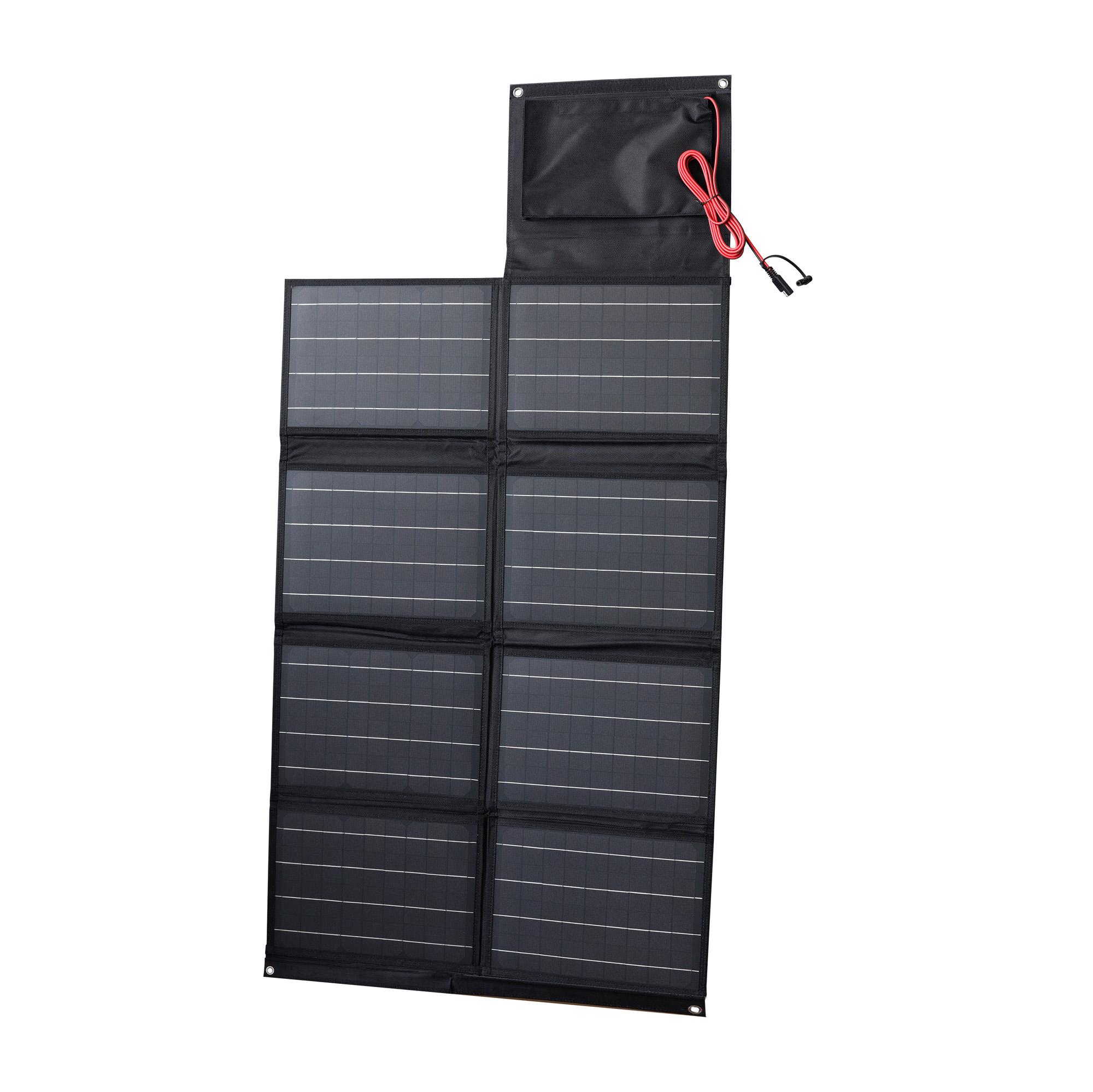 80 Watt Portable Folding Solar Panel
